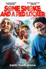 Немного дыма и красный шкафчик